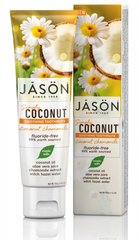 Зубна паста, що загоює з маслом кокосу Simply Coconut, 119г, Jason Natural Cosmetics