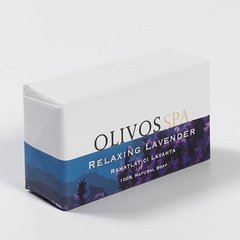 Spa Relaxing Lavender натуральне оливкове мило, 250г, Olivos