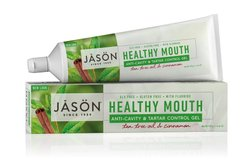 Зубний гель Healthy Mouth з коензимом Q10, Jason Natural Cosmetics