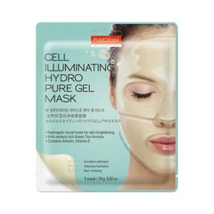 Маска гидрогелевая для сияния лица Cell Illuminating Hydro Pure Gel Mask, 25г, Purederm